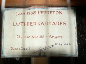Concert Lebreton 2008